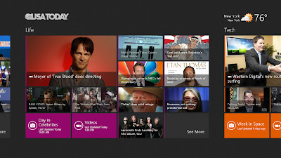 Awesome USA Today App in Windows 8