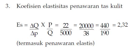 Penawaran Elastis 1