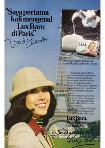 Iklan Lux di Paris Widyawati Sophiaan Mengilhami Marissa Haque