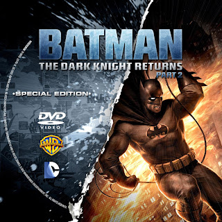 Label DVD Batman The Dark Knight Returns Part 2