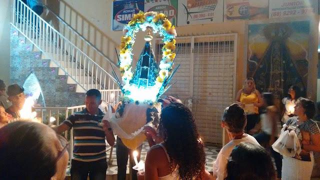 FESTA DE NOSSA SENHORA APARECIDA EM LIMA CAMPOS - CE