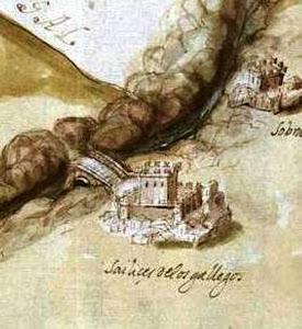 Castillo de San Felices de los Gallegos, 1643