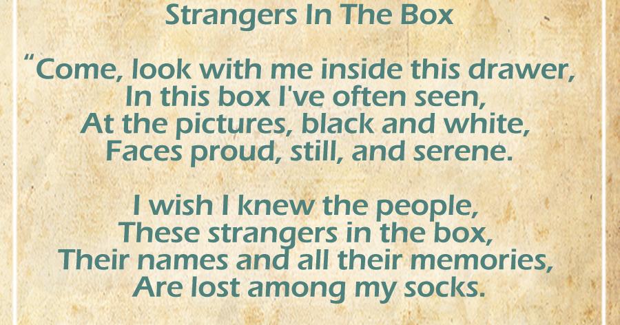 strangers in the box