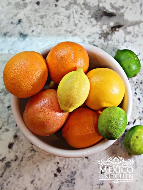 Mexican Limeade Orangeade recipe