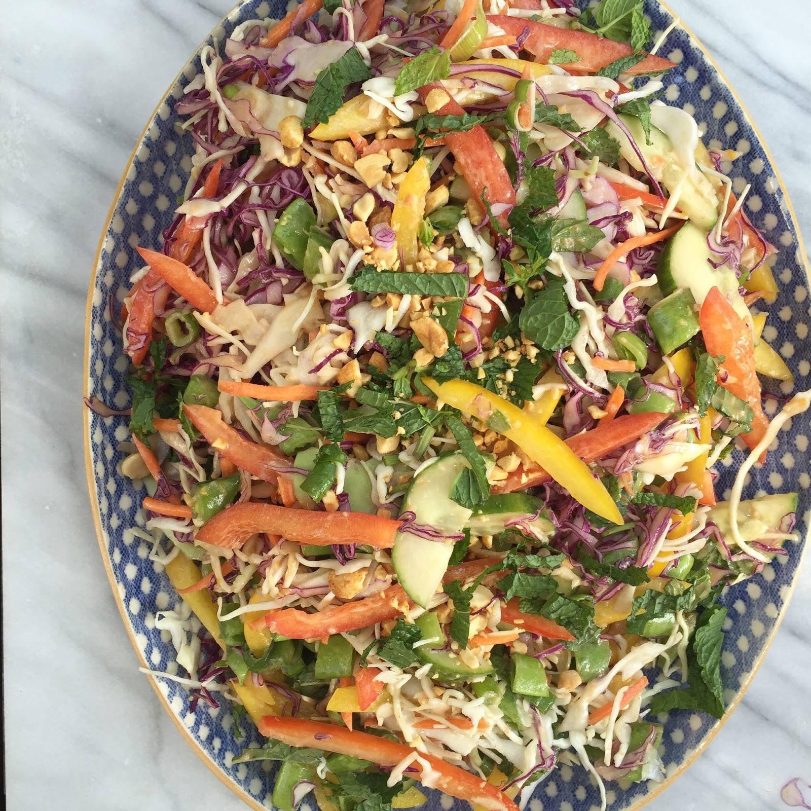 ... Crunchy Thai Salad + Spicy Peanut Dressing | Nordstrom Clearance Sale