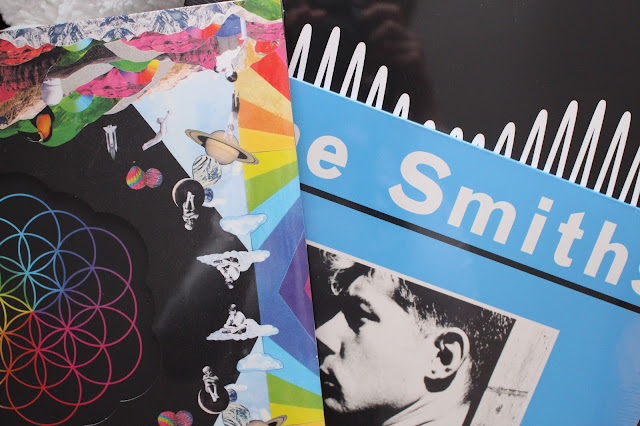 The Smiths AM Arctic monkeys coldplay head full of dreams vinyl HMV