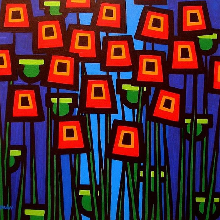 Cuadros modernos pinturas y dibujos bodegones modernos for Cuadros coloridos modernos