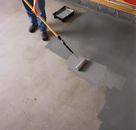 Creative Ideas Using Concrete Floor Paint