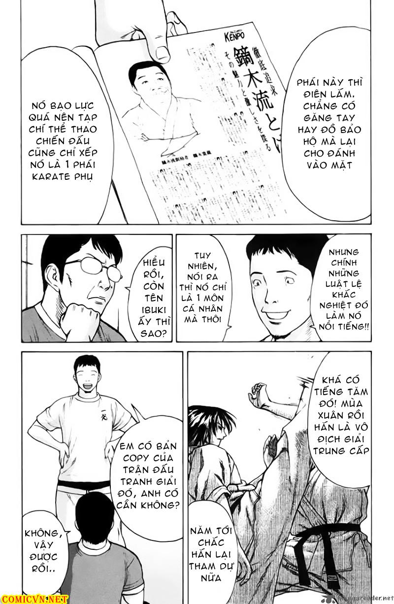 Karate Shoukoushi Kohinata Minoru chap 33 Trang 13