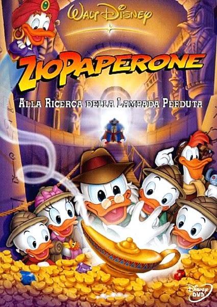 Quack magazine zio paperone nei cartoni animati