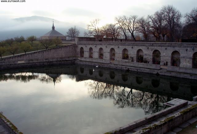 Estanque del Monasterio de El Escorial