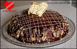 portakallı çikolatalı yaş pasta tarifi-bir dilim aşk