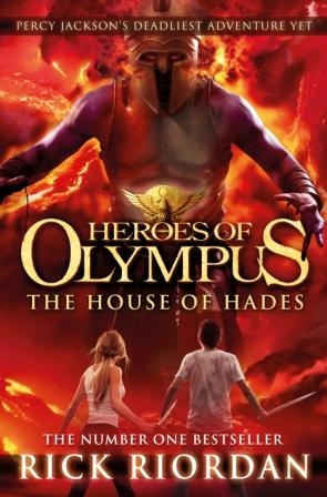 Portada The House of Hades en el Reino Unido