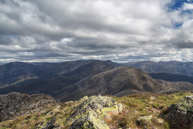 mount buggery and crosscut saw alpine national park