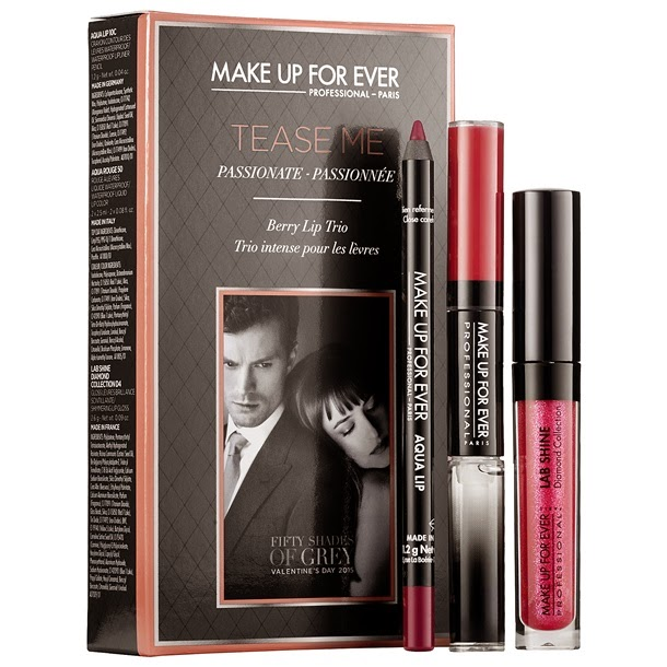 Make Up For Ever Fifty Shades of Grey Makeup Collection