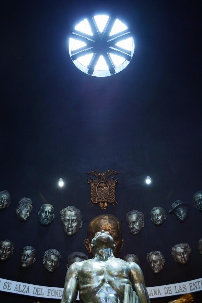 Mausoleum General Eloy Alfaro Delgado, Montecristi