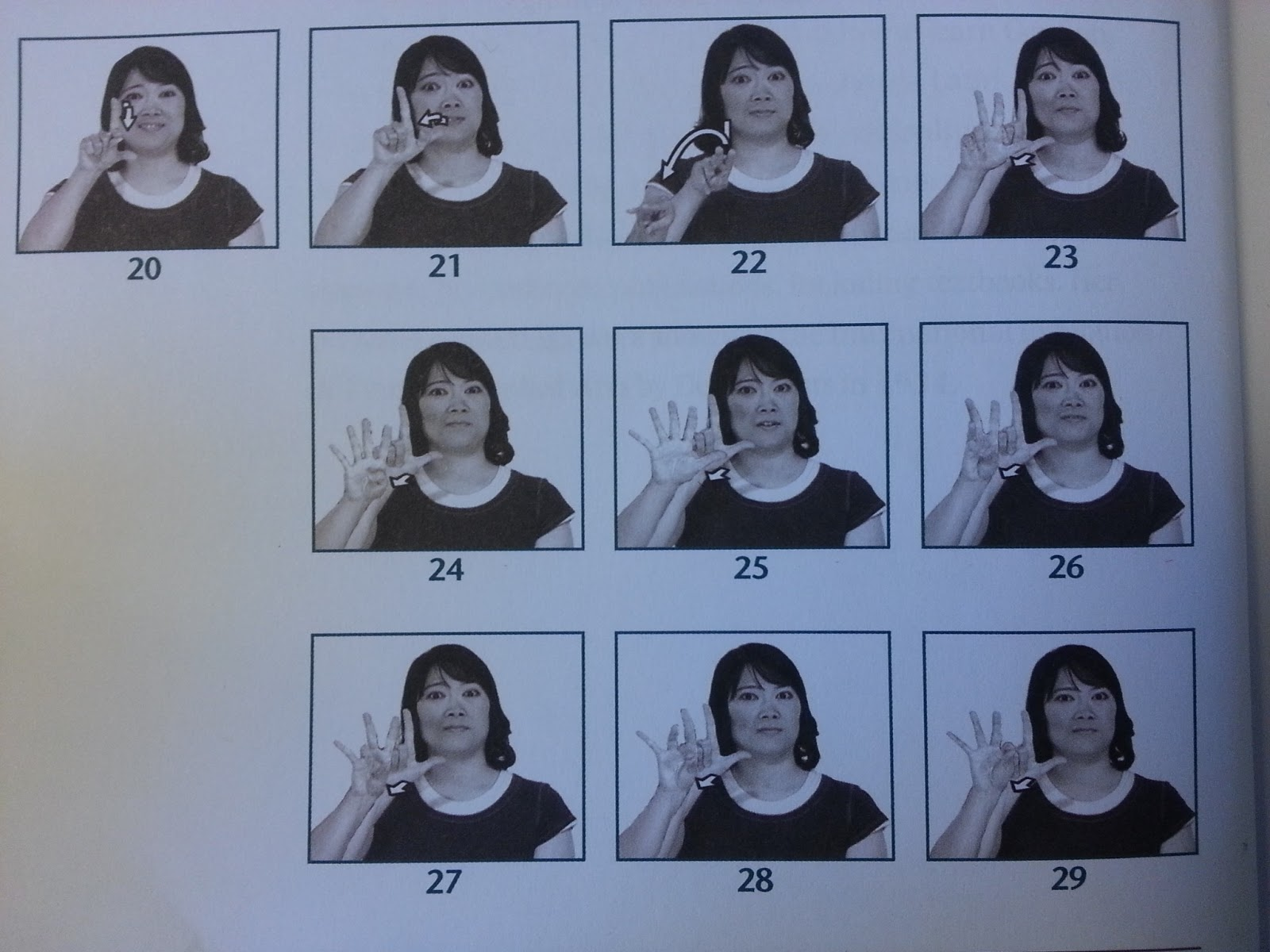 how to sign write in asl