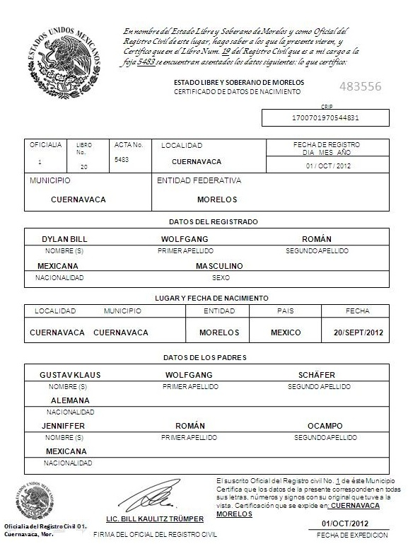 Dorable Plantilla De Certificado De Nacimiento De Niño Ornamento ...