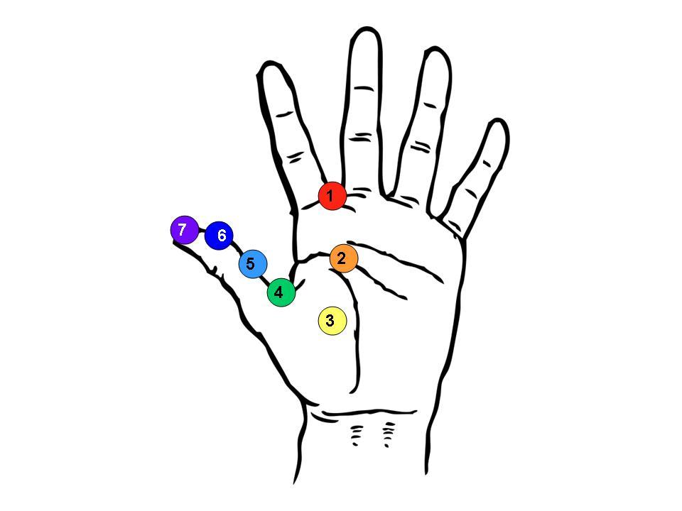 TheNaturalPath: Chakras & chakra healing on the hand with ...