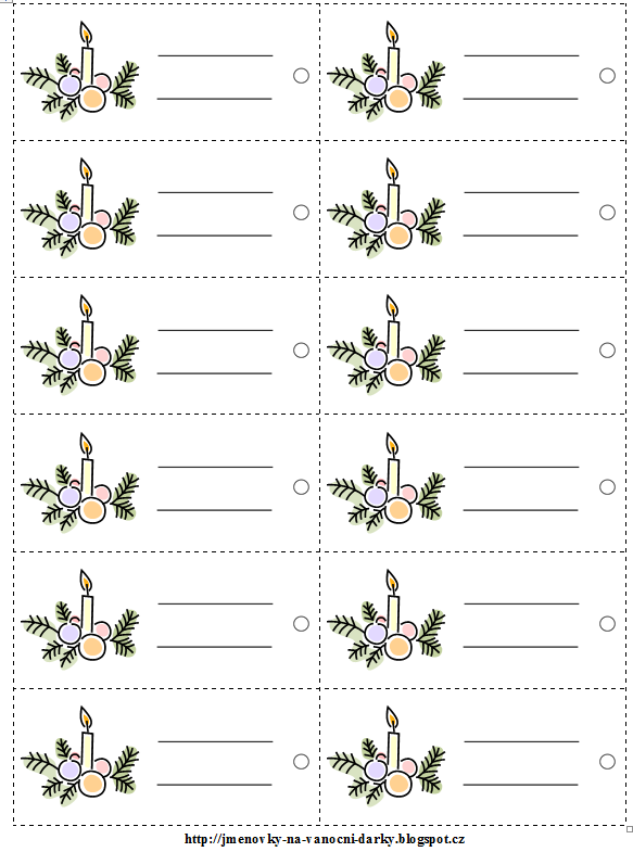 Spice Jar Labels And Templates To Print Free Christmas