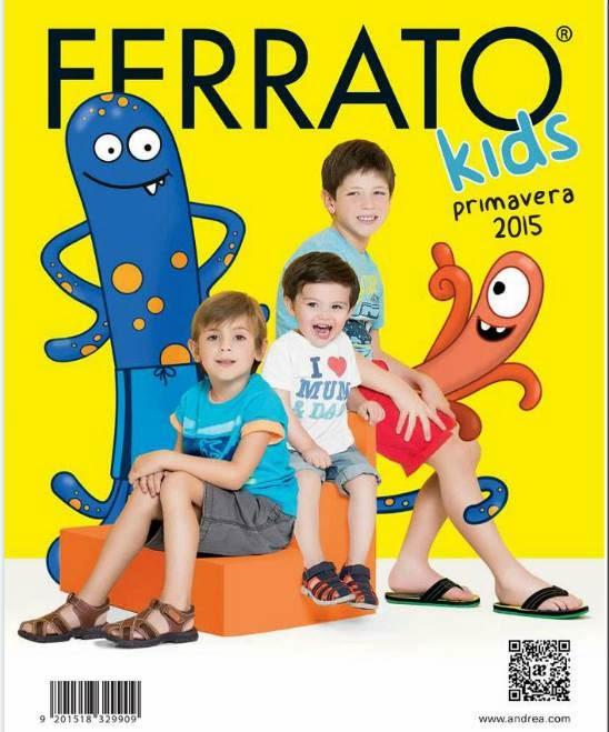 Ferrato Kids Catalogo Primavera 2015
