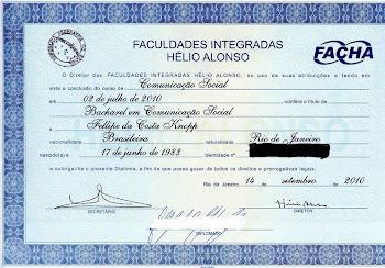 Diploma graduação