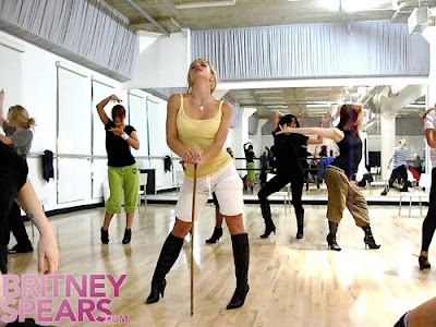 britney spears dance practice
