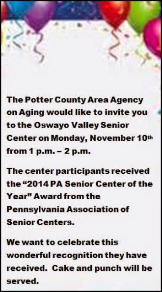 11-10 Oswayo Valley Senior Center