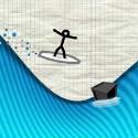 Line Surfer Icon Logo