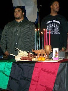 Kwanzaa ceremony