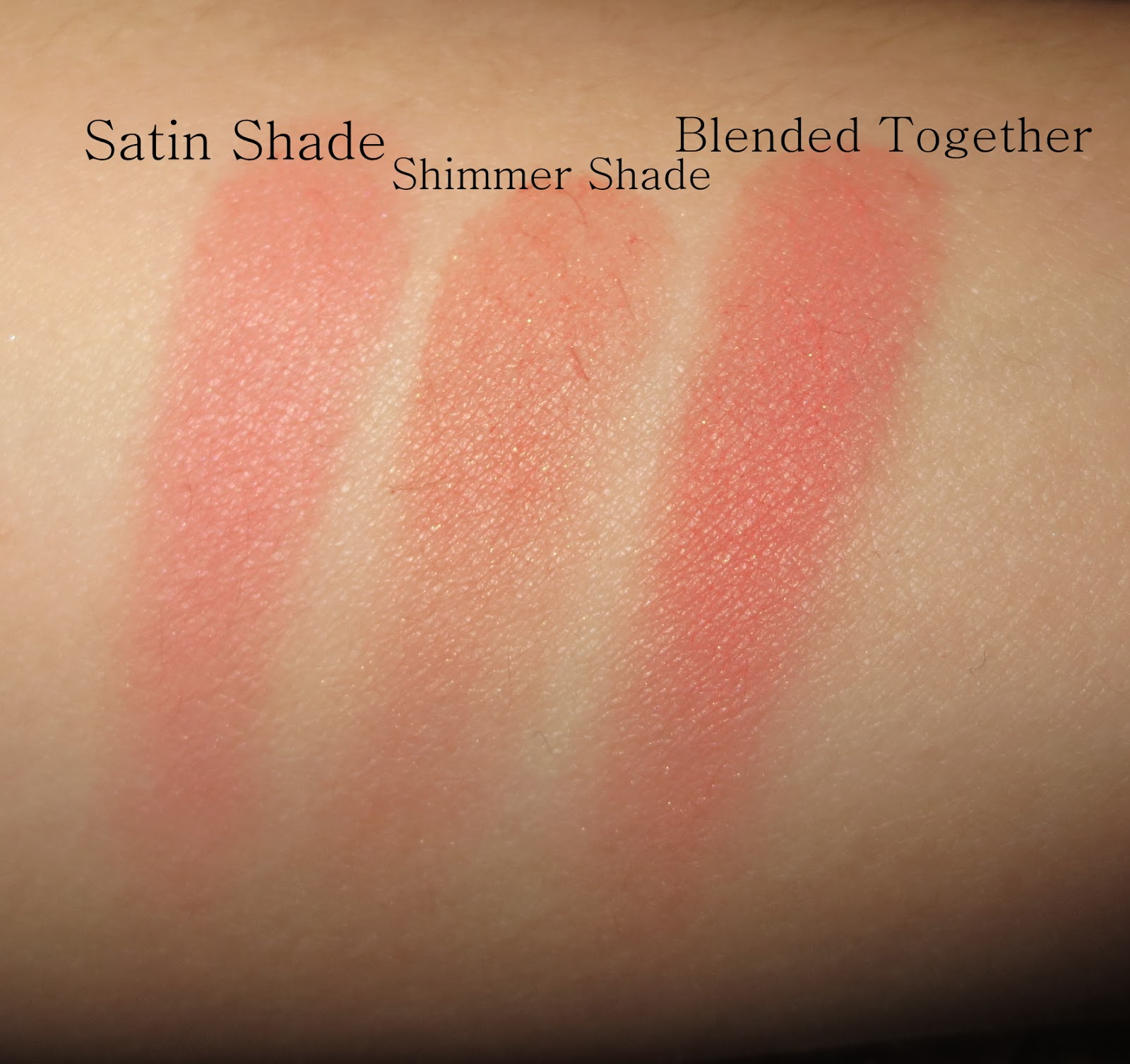 YSL Blush Radiance #9 Poppy Coral Swatches