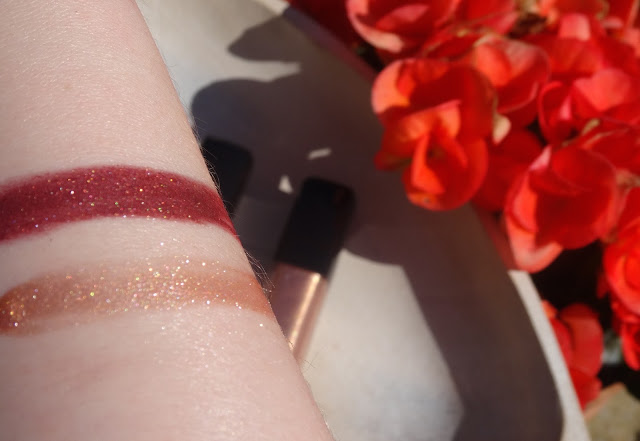 L'Oreal Paris Infallible Mega Gloss Disco Ball and Flash Dance swatches