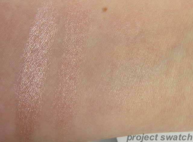 Wet n Wild Rose Champagne glow swatch