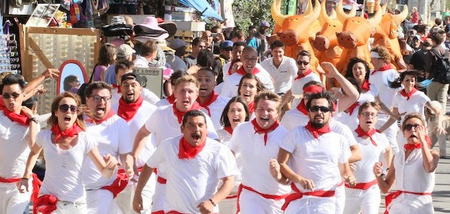 Improv Everywhere: The Running of the Bulls