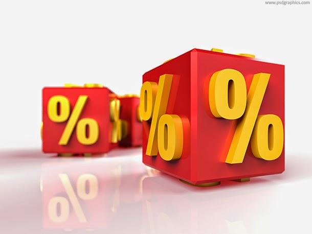 Percentage Boxes PSD