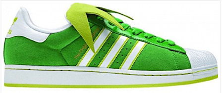 Adidas Green Suede Shoes