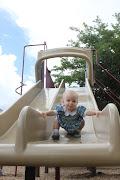 Hazel Mae at the playground (summer )