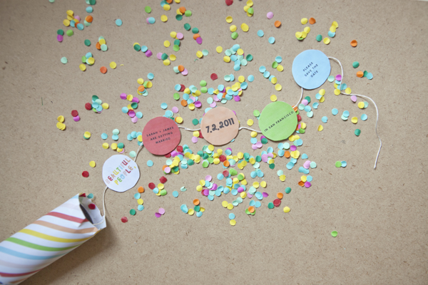 confetti invitations  template, invitation samples