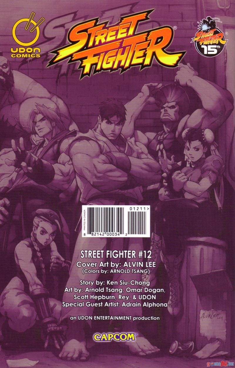 Street Fighter chap 12 - Trang 21