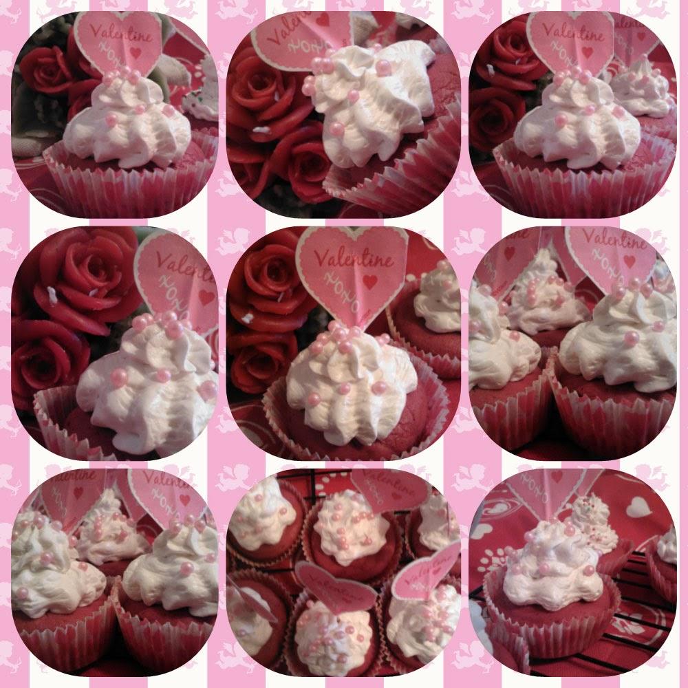 san valentino ed i miei red velvet cupcake