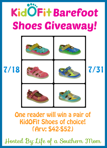KidOFit Barefoot Shoes Giveaway