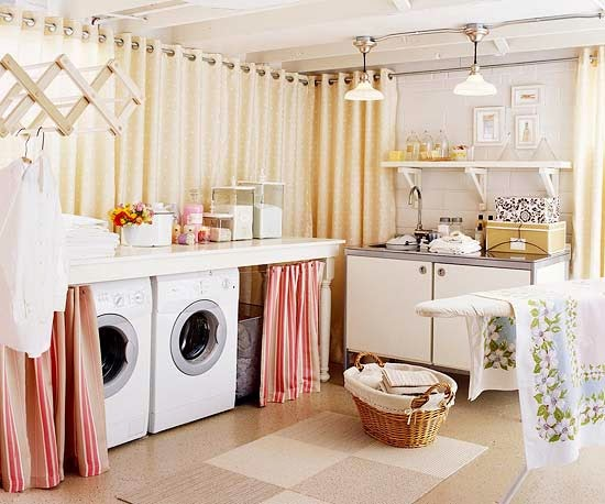 Inside The Brick House My Quest For Easy Updates To A Better Delectable Basement Laundry Room Makeover Ideas Decor