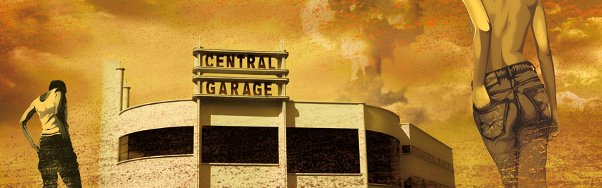 Central Garage by Regis Lagoeyte