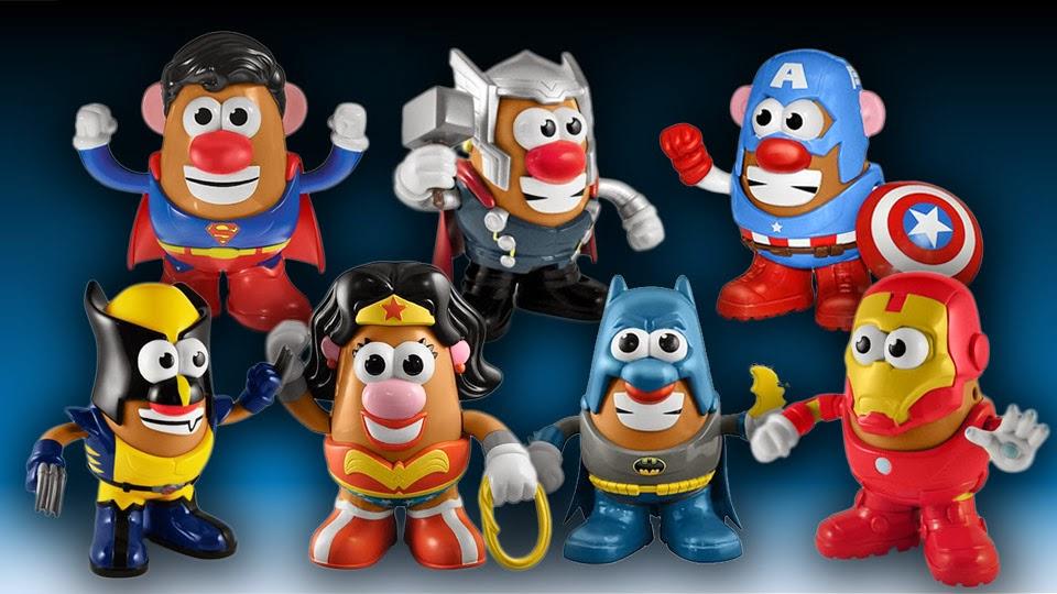 Mr. Potato personajes de Marvel