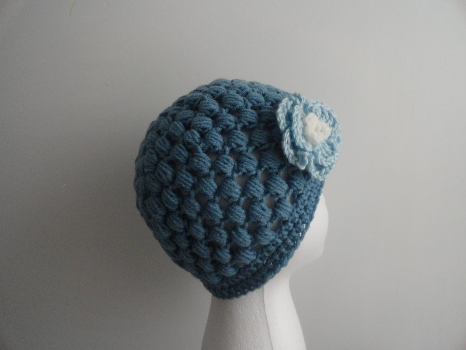 Crochet Crazy Mama: Puff Stitch Hat
