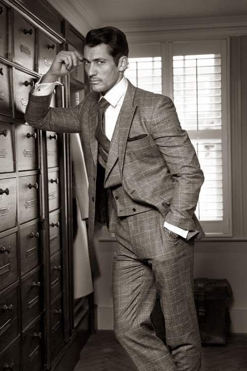 david gandy photoshoot