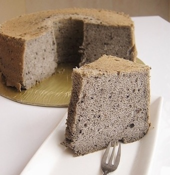 black sesame cake recipe malaysian asian dessert