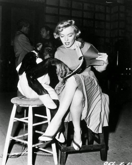 "Marilyn Monroe rivede la sceneggiatura ""I feel rejuvenated"" (1952)"