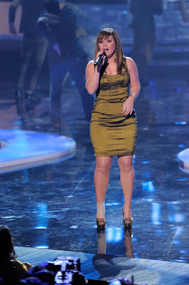 Kelly Clarkson Corset Dress