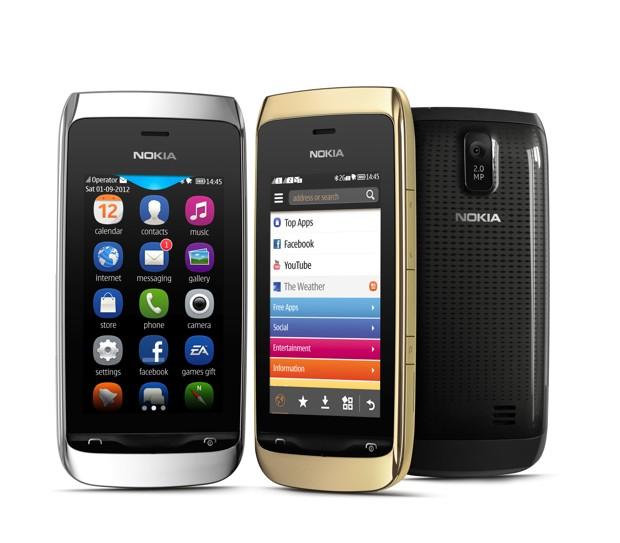 Nokia Asha 308 et Asha 309 (Caractéristiques et spécifications)
